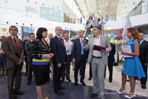 Радиосистемы гида TourAudio на открытии крупнейшего торгово-развлекательного центра в Ульяновске