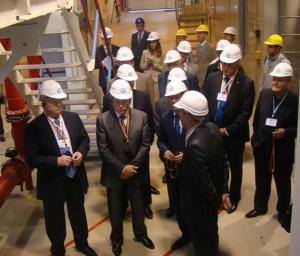 Торжественное мероприятие, посвященное пуску новой парогазовой установки на Пермской ТЭЦ-6 с участием первых лиц Пермского края